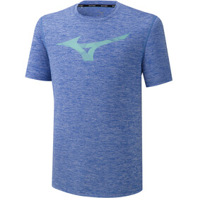 Mizuno Core RB Graphic T-shirt Heren, dazzling blue